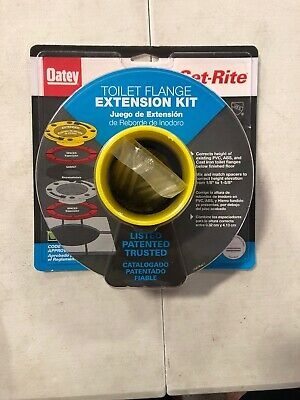 OATEY SET-RITE TOILET Flange Spacer Kit, Inc  4 sizes,1/8