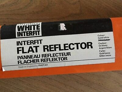 Photax Interfit flat reflector with Photax stand