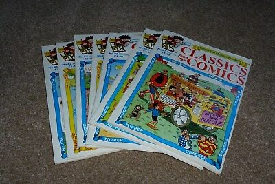 Classics From The Comics Mag.7 Issues Beano Dandy 97-98 D C Thomson Ex Mint