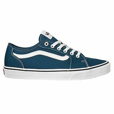 5f73a8493a8 VANS WARD CHECKERBOARD Sailor Blue/White Old Skool Shoes Trainers ...