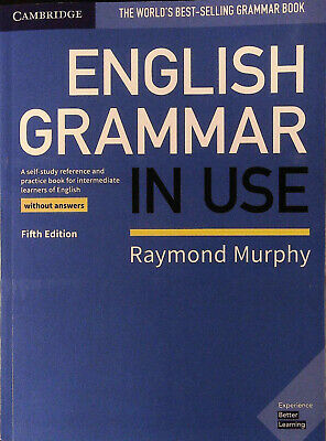 Cambridge ENGLISH GRAMMAR IN USE without Answers FIFTH Edition | R Murphy @NEW@