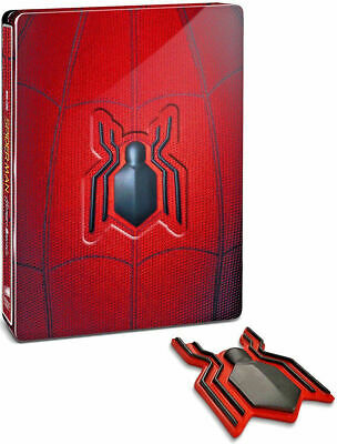 SPIDER-MAN: HOMECOMING - Steelbook Edition + Magnete (2 BLU-RAY) con Tom Holland