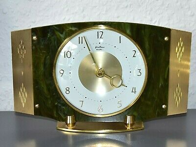 BENTIMA vintage - 8 day mantle clock. Made in England. Restored. Running