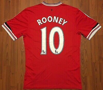 915a0fdd18d Authentic Adidas 2015 Wayne Rooney Manchester United Football Club Jersey  Med