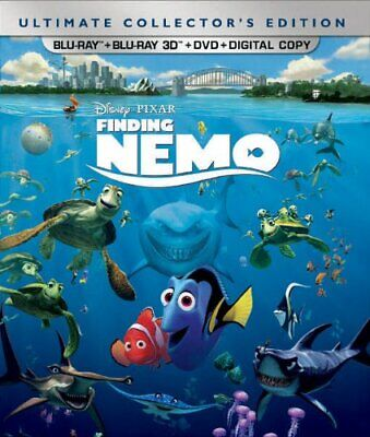Finding Nemo (Five-Disc Ultimate Collector's Edition: Blu-ray 3D/Blu-ray/DVD +