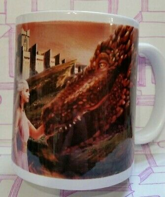 Game of Thrones inspired Mug. Mother of Dragons. Came in Shelflove Crate.
