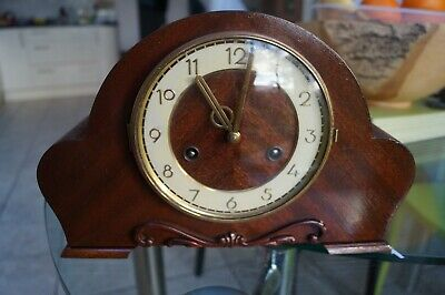 """H.A.C. """"ting-tang"""" chime mantel clock. Hear chime in VIDEO."""