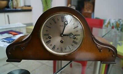 HERMLE Westminster chime mantel clock SEE VIDEO