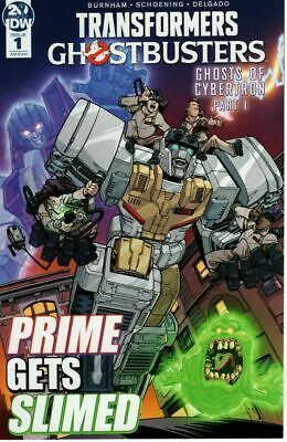 Transformers Ghostbusters #1 Ashcan (2019) Ghosts of Cybertron IDW CON EB16