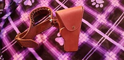 1ff5ebdd25ea LOT OF VINTAGE Leather Holsters for Various Makes and Models ...