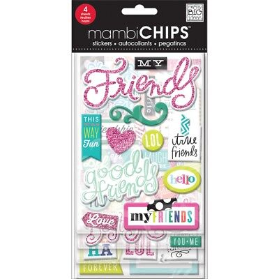 Me & My Big Ideas Chipboard Value Pack-good Friends - Packgood