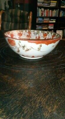 Fine 18Th Century Chinese / Japanese Porcelain Bowl With Images Of The Immortals