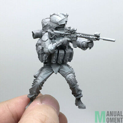 Miniature 1/35 Modern U.S Army  Special Forces Battle Status Individual Soldier