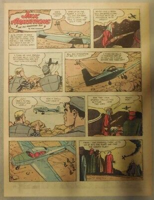 Jack Armstrong The All American Boy by Bob Schoenke 10/24/1948 Tabloid Page !