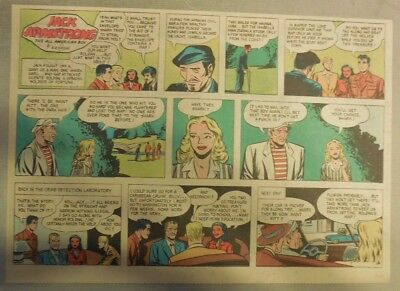 Jack Armstrong The All American Boy by Bob Schoenke 9/28/1947 Half Size Page !