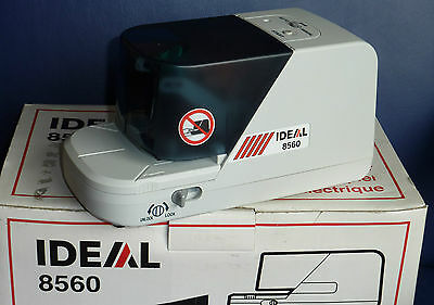 REDUCED PRICE! - Electric Stapler, VERY Fast, Ideal 8560 auto. desk stapler.