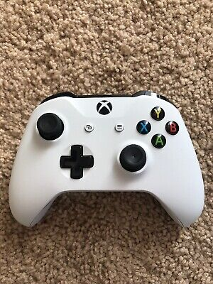 Microsoft Xbox One White Controller Wireless