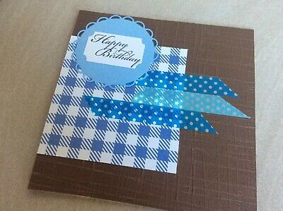 Handmade Card~Male Birthday, 14x14cm,Comes With Envelope
