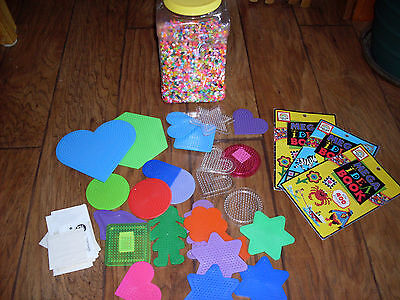 Lot of Fusion Beads/Peg Boards (Hours of Fun)