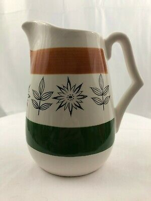 Vintage Royal Sealy Japan 99/1 1950s Hand Painted Pitcher Juice