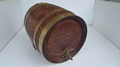 morris mini wooden wine or spirits barrel
