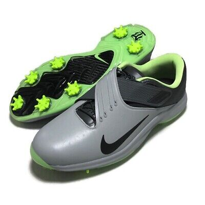los angeles 8536c 2812f New Nike Tiger Woods TW  17 Golf Shoe Wolf Gray Black Green 880955