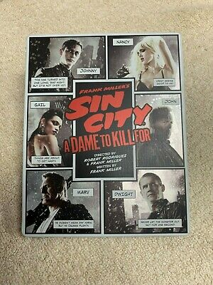 Frank Millers Sin City: A Dame to Kill For (Blu-ray/DVD, SteelBook, 3D