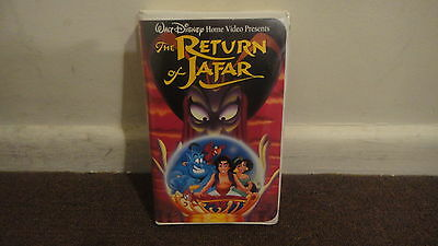 The Return of Jafar on VHS DISNEY, Aladdin Series. Good Condition......LOOK!!