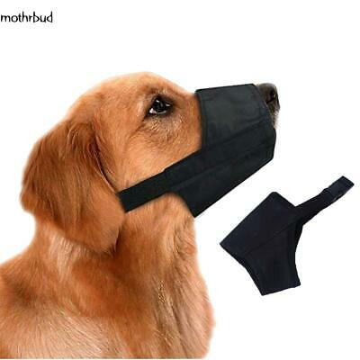 Adjustable Pet Safety Muzzle Anti-bite Stop Barking  Dog Mouth Cover M5BD 02