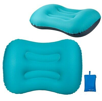 Portable Self-Inflatable Pillow Cushion Travel Office Foldable inflatable pillow