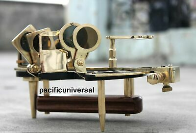 Nautical Sextant Solid Brass Sextant Maritime Astrolabe Marine Gift Desk Sextant