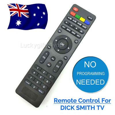 New Dick Smith Tv Remote Control Led Lcd Dse Multiple Model Ge Numbers Oz