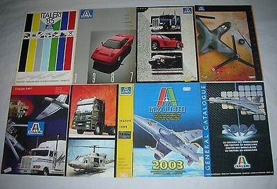 Catalog Italeri  8 U.  Years :  '85+1987+1988+1990+1997+1999+2003+2004 .