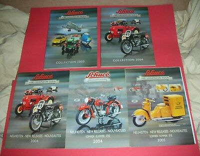 5 Catalog Schuco Collection 2004,2005,Neuheiten 2004,Sommer 2004/05.319 Pages !