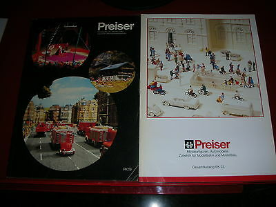 Catalog Preiser (3)  Pk 19   Pk 23   And Neuheiten 2005