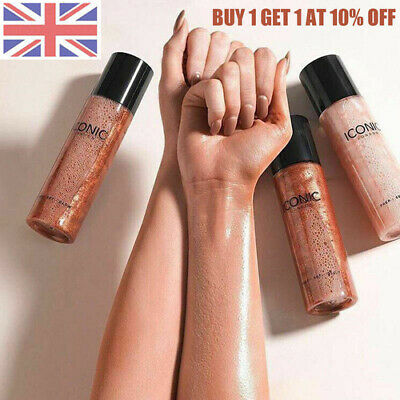 2019 New Iconic London Prep Set Glow Face Spray Makeup Boxed