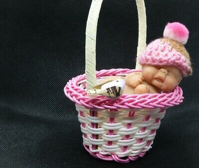 Polymer Clay handmade, art dolls.OOAK, collectables, mini babies, Meet Isla
