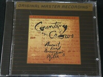COUNTING CROWS - August and Everything After - MFSL. Gold CD.