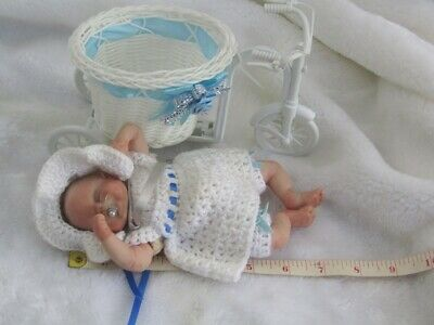 Polymer Clay baby handmade art doll, collectors, COA. OOAK, Meet Suzie