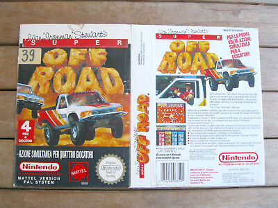 SUPER OF-ROAD - NINTENDO Famicom/NES COVER - NO CARTUCCIA