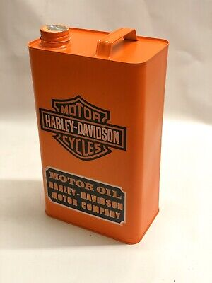 Motor Harley Davidson Cycles- Vintage Decorative Petrol Fuel Jerry Can
