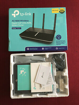TP-Link Archer VR600V AC1600 WiFi Wireless ADSL VDSL VOIP Modem Router NBN Ready