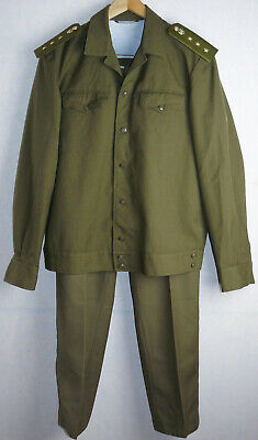 Daily Uniform Jacket Tunic Pants Trousers Soviet Army Medic Russian Officer USSR