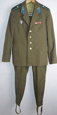 Uniform Daily Jacket Tunic Galliffet Trousers Soviet Army Russian Major USSR Pin
