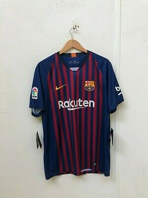 de32668da Nike FC Barcelona Men s 2018 19 Home Shirt - Large - I.Rakitic 4