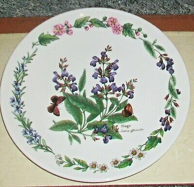 Royal Worcester Herbs  Sage 19 cm/7.5 Inch dia  For Wall hanging