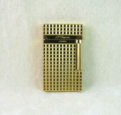 HOT NEW S.T Dupont Memorial lighter Bright Sound! golden lighter