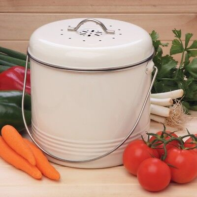 REFURBISHED Enamel Kitchen Composter