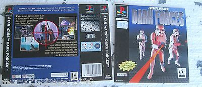 Star Wars Dark Forces (1997) Playstation 1 Cover, No Disco No Box
