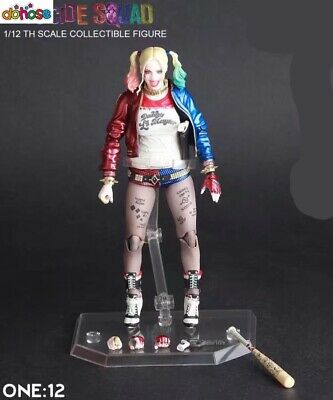 Crazy Toys DC Comic Harley Quinn 6'' Suicide Squard 1/12 Action Figure Statues